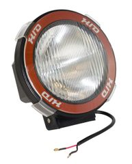 ( 1520504 ) 5-Inch Round HID Off Road Light, Black Composite Housing by Rugged Ridge