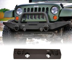 ( 1154011 ) XHD Non-Winch Mount Front Bumper, 07-17 Jeep Wrangler by Rugged Ridge