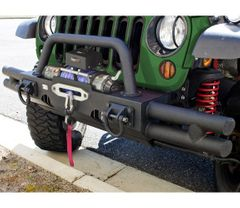 ( 1154021 ) Tubular Ends for XHD Modular Front Bumper by Rugged Ridge