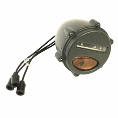 ( S-21245 ) Front Marker & Turn Signal Assembly with Amber Lens, 24 Volt M37, M35A1 by Newstar