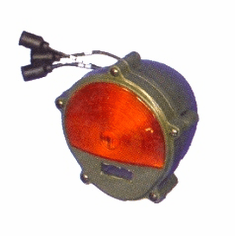 ( S-B098 ) Front Turn Signal, Parking Lamp with Amber Lens, 24 Volt, M151A2, M35A2, M809, Humvee by Newstar