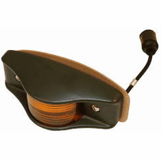 ( S-B321 ) Side Clearance Marker Light, Amber Lens with Military Green Housing, 24 Volt by Newstar