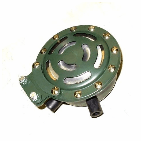 ( S-C122 ) 24 Volt Electric Horn for Military Vehicles, Rubber Packard Connectors by Newstar