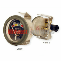 ( S-C178 ) New Electric Battery Gauge, 24 Volt, for Dodge M37 Truck by Newstar