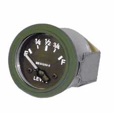 ( S-C179 ) New Electric Fuel Level Gauge, 24 Volt for Dodge M37 Truck by Newstar