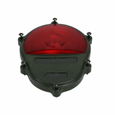 ( S-D565 ) Rear Lamp Cover with Red Lens for Composite Plastic Tail Lights Only by Newstar