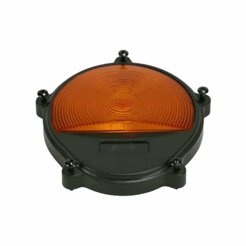 ( S-D566 ) Front Lamp Cover with Amber Lens for Composite Plastic Turn Signal Lights Only by Newstar