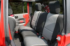 ( 1326409 ) Neoprene Rear Seat Cover, 07-17 Jeep Wrangler Unlimited by Rugged Ridge