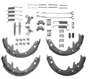 "Shoe Set Master Kit, Fits 1982-1986 CJ with AMC 20 axle, 1987-1989 Wranglers with Model 35 rear axle, 1984-1989 Cherokee XJs with Model 35 rear axle. For 10"" x 1-3/4"" brakes."