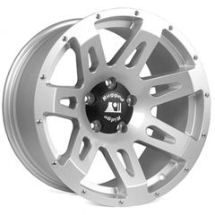 Aluminum Wheel, Silver, 18x9, 07-17 Jeep Wrangler  by Rugged Ridge