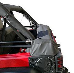 ( 1210451 ) Soft Top Storage Boot, Black Diamond, 07-17 Jeep Wrangler JK 4-Door by Rugged Ridge
