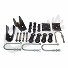 ( 52006421K ) Rear Spring Mounting Kit for 1987-95 Jeep Wrangler YJ with Dana 35 Rear Axle  by Crown Automotive