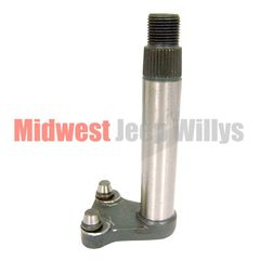 Steering Box Sector Shaft for 1950-1952 Willys Military Jeep M38