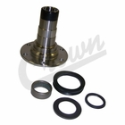 ( J8128147 ) Steering Spindle, 1977-1986 Jeep CJ5, CJ7, CJ8 Models Includes Bearings & Seals By Crown Automotive