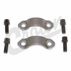 ( 4006698K ) U-Joint Strap & Bolt Kit, Hex Head, fits 1976-2006 Jeep CJ, Wrangler, Cherokee, Grand Cherokee by Crown Automotive