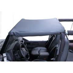 Summer Brief Top, Black, 87-91 Jeep Wrangler by Rugged Ridge