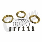 ( 991020X ) Synchronizer repair kit, fits 1967-75 Jeep CJ with T14A 3 Speed Transmission by Crown Automotive