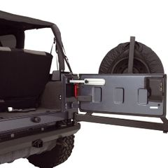 Billet Aluminum Tailgate Stop, 87-17 Jeep Wrangler by Rugged Ridge