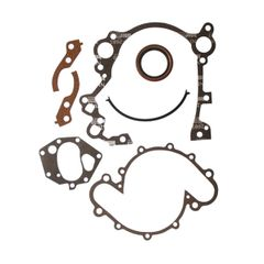 ( J8129098 ) Timing Chain Cover Gasket & Seal Kit for 1971-91 Jeep 5.0L or 5.9L Engine By Crown Automotive