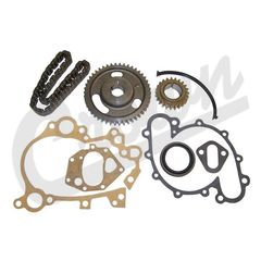 Timing Chain Kit, AMC V8 for 1971-1991 Jeep Vehicles With 5/8″ Wide Timing Chain