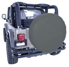 ( 1280435 ) 35-36 Inch Tire Cover, Black Diamond by Rugged Ridge