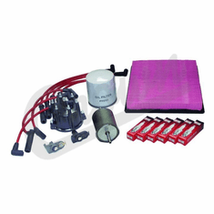 ( TK10 ) Tune-Up Kit for 1993-96 Jeep Grand Cherokee ZJ with 4.0L 6 Cylinder Engine By Crown Automotive
