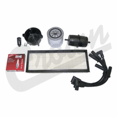 ( TK13 ) Tune-Up Kit for 1991-93 Jeep Wrangler YJ with 2.5L 4 Cylinder Engine & SAE Oil Filter By Crown Automotive