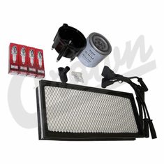 ( TK16 ) Tune-Up Kit for 1997-98 Jeep Wrangler TJ with 2.5L 4 Cylinder Engine By Crown Automotive