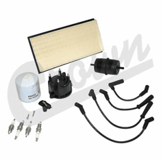 ( TK20 ) Tune-Up Kit for 1994-96 Jeep Cherokee XJ with 2.5L 4 Cylinder Engine By Crown Automotive