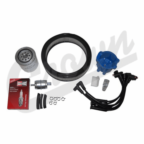 ( TK28 ) Tune-Up Kit for 1980-82 Jeep CJ-5 & CJ-7 with 4.2L 6 Cylinder Engine By Crown Automotive