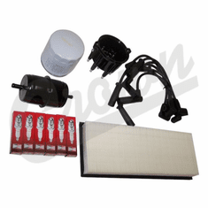 ( TK3 ) Tune-Up Kit for 1994-95 Jeep Wrangler YJ with 4.0L 6 Cylinder Engine By Crown Automotive