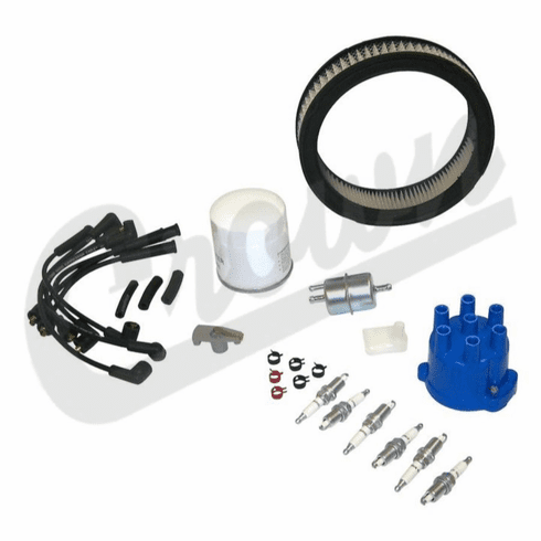 ( TK32 ) Tune Up Kit for 1987-90 Jeep SJ and J-Series with 4.2L 6 Cylinder Engine By Crown Automotive