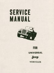 Universal Jeep Service Manual - CJ2A, CJ3A, Early CJ3B ��