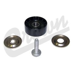 ( 4891797AA ) Upper Idler Pulley for 2007-17 Jeep Compass and Patriot with 2.0L or 2.4L Engine by Crown Automotive