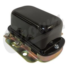 ( 923130 ) 12 Volt Voltage Regulator, Fits 1957-1966 Jeep CJ's & Willys Truck, Station Wagon & FC Models by Crown Automotive