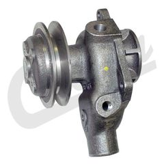 ( J8126774 ) Water Pump with Single Groove Pulley for 1941-1971 Jeep L-134 and F-134 4 Cylinder Engines by Crown Automotive
