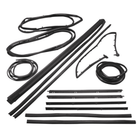 ( KD4004) Jeep 1987-1995 Wrangler YJ Weatherstrip Kit with movable vent, 13 Piece Kit by Fairchild