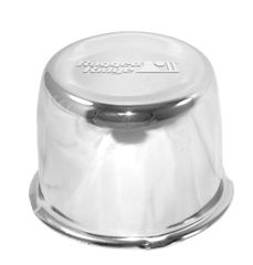 Wheel Center Cap, Chrome, 5 x 4.5-inch Bolt Pattern by Rugged Ridge