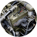 Willys Jeep Engine Parts for L-134 and F-134 Engines