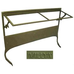 Windshield Frame, Willys Script, for 1945-1949 Willys Jeep CJ2A