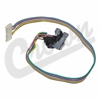( 56007299 ) Windshield Wiper Motor Switch, fits 1987-95 Jeep Wrangler YJ & 1984-94 Cherokee XJ with Intermittent Wipers & with Tilt Column  by Crown Automotive