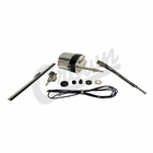 ( 12VST ) Wiper Motor Kit, 12 Volt, Stainless Steel Universal Application, 1941-1968 MB, GPW, CJ2A, CJ3A, DJ3A, CJ3B, CJ5, CJ6 by Crown Automotive