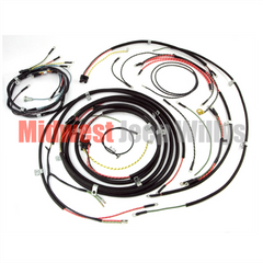Wiring Harness Kit, no Turn Signals, fits 1948-1953 Willys Jeep CJ3A Models