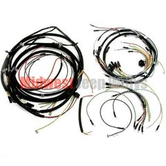 ( 643261T ) Wiring Harness Kit, Horn on Fender, with Turn Signals, Fits Late 1946-1949 Jeep CJ2A by Omix-Ada