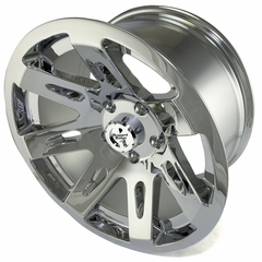 XHD Aluminum Wheel, Chrome, 17 inch X 9 inches by Rugged Ridge