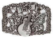 1973 Guitar Belt Buckle