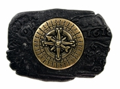 Compass Trophy Belt Buckle