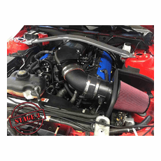 2011-14 Mustang GT Whipple STAGE 3 W175FF (2.9L) SC Kit / Intercooled / Black