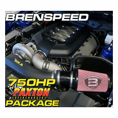 2011-14 Mustang Paxton Supercharger 750HP Brenspeed Package Stage 3
