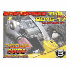 2015-17 Mustang GT Brenspeed Paxton 750HP Stage 1 Supercharger Package